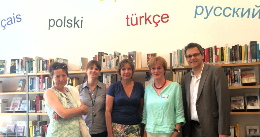 Besuch in der Mittelpunktbibliothek Schöneberg