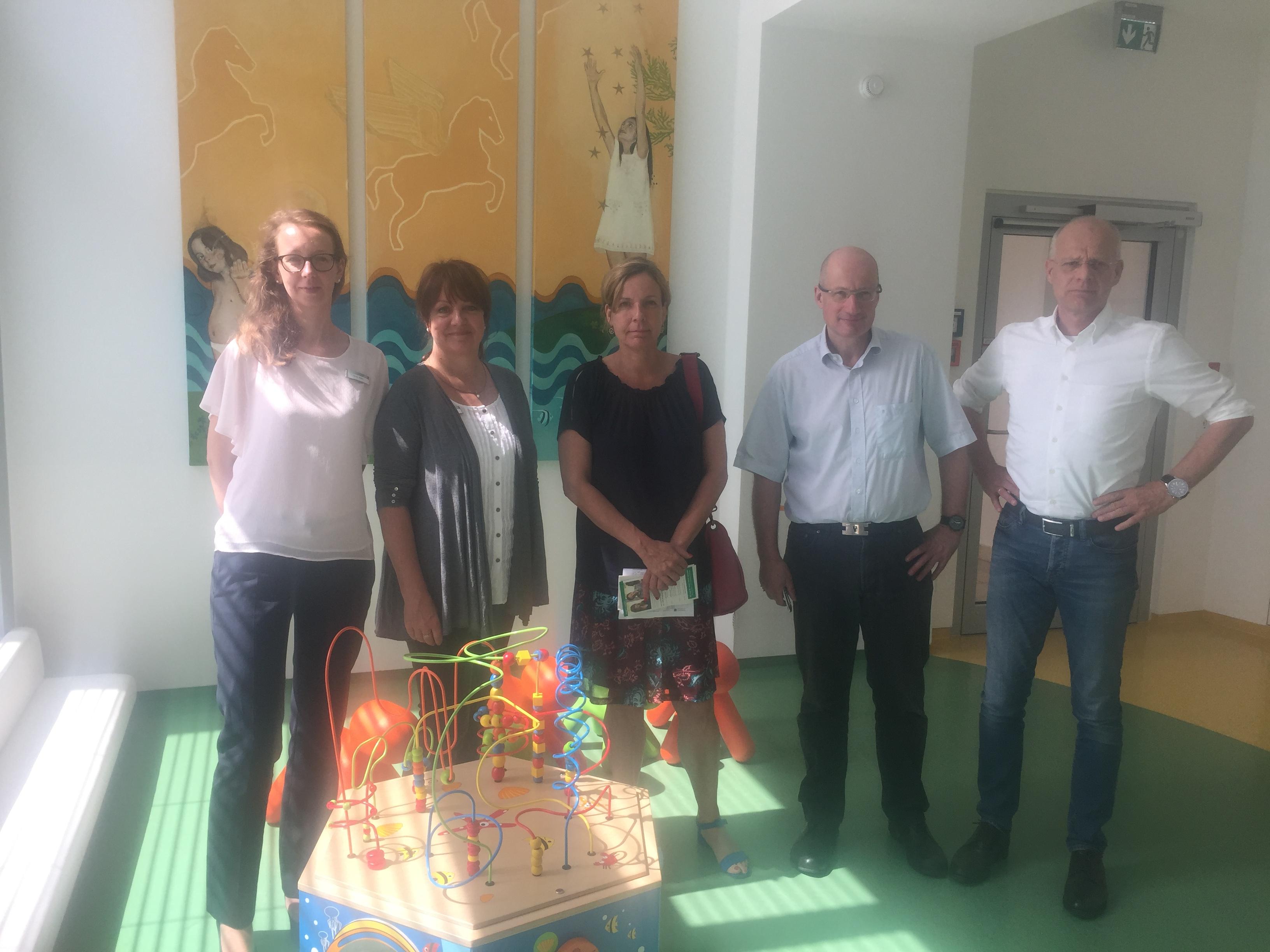 Besuch beim Centrum für Gesundheit