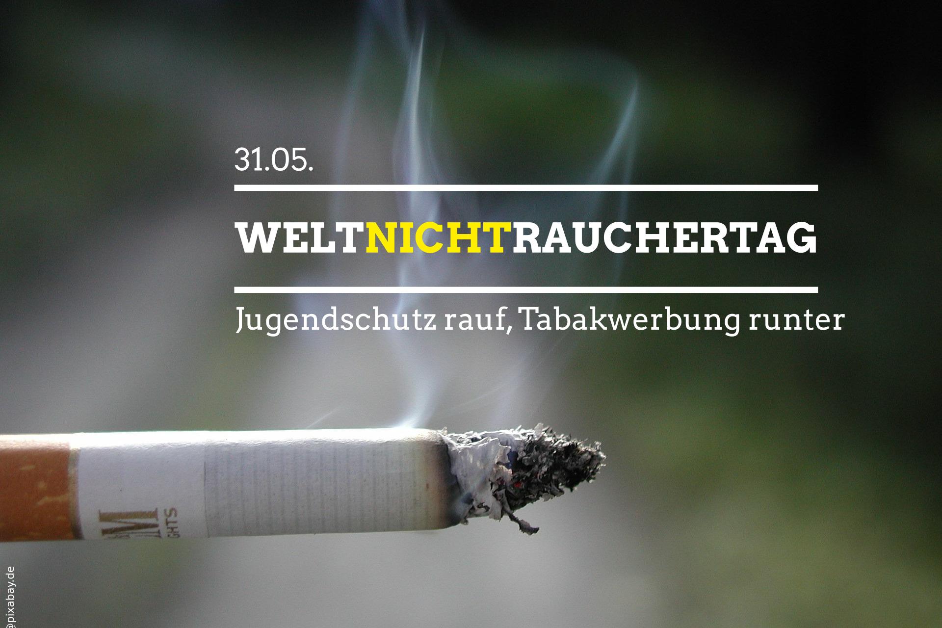 Weg mit der Tabakwerbung!