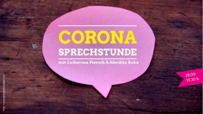 Corona Sprechstunde @ online