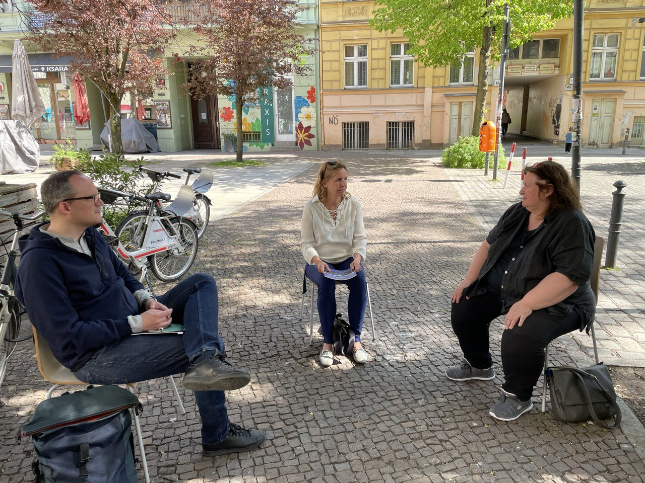 Zu Besuch beim Stadtteilverein Schöneberg e.V.