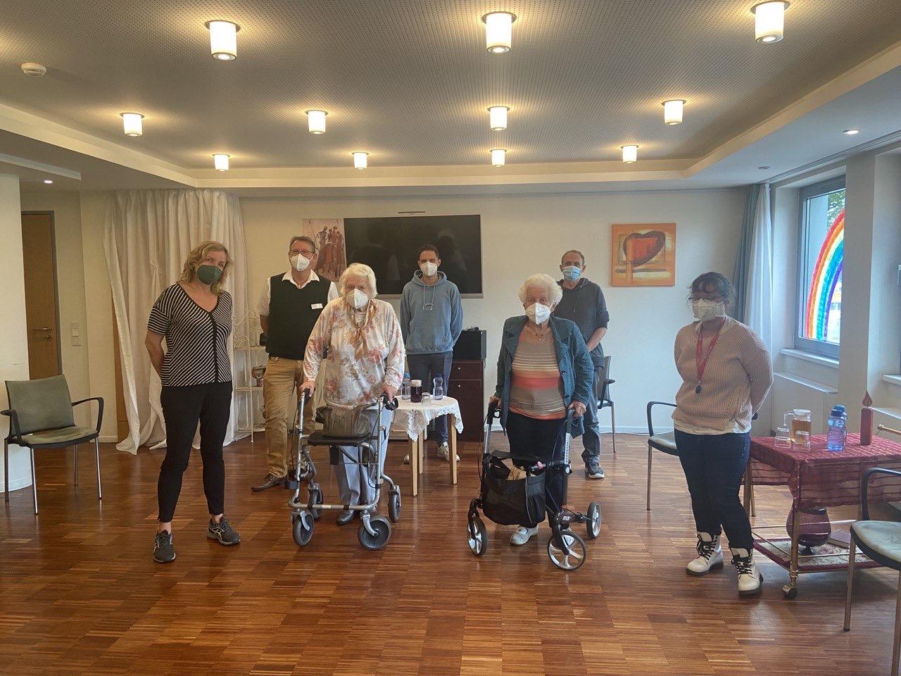 Zu Besuch im Immanuel-Seniorenzentrum Schöneberg