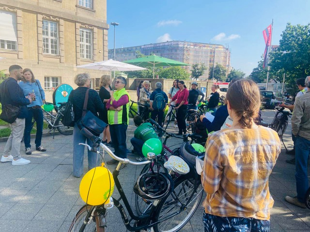 """""""Fahrradstraße vom Rathaus Schöneberg bis zum Kreuzberg"""""""
